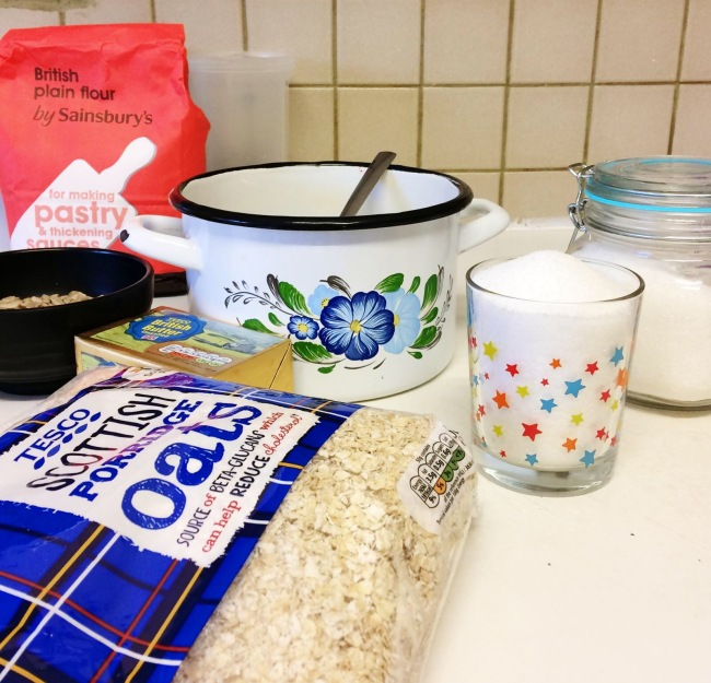 oat flakes cake ingredients